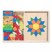 "Крупноформатная мозаика Melissa & Doug ""Pattern Blocks and Boards"" (MD10029)"