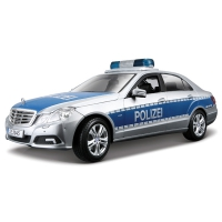Автомодель Maisto (1:18) Mercedes Benz E-Class German Police (36192 silver-blue)