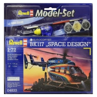 Модель Set Revell Вертолёт Eurocopter BK 117 Space Design 1:72 (64833)