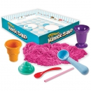 Песок для творчества Wacky-Tivities Kinetic Sand Construction Zone (71417-1)