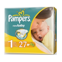 Подгузники Pampers New Baby Mini 2-5 кг, 27 шт. (4453)