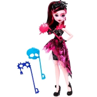 "Кукла Monster High ""Дракулаура"" серия Welcome to Monster High (DNX32-1)"
