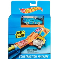 Карманный трек Construction Mayhem Hot Wheels Mattel (CKJ08-4)