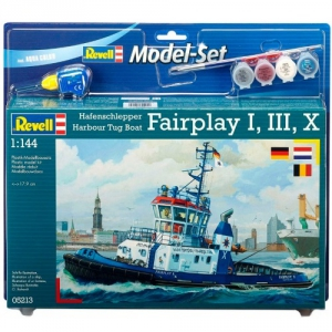 Модель Set Revell Портовый буксир Harbour Tug Boat Fairplay I, III, X, XIV 1:144 (65213)