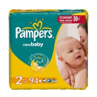 Подгузники Pampers New Baby Mini 3-6 кг, 94 шт. (4613)