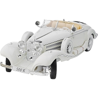 Автомодель Maisto (1:18) Mercedes-Benz 500 K Typ Specialroadster (1936) Macharadga (36055 white)
