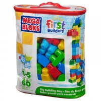 Конструктор Mega Bloks First Builders 60 эл. (DCH55)